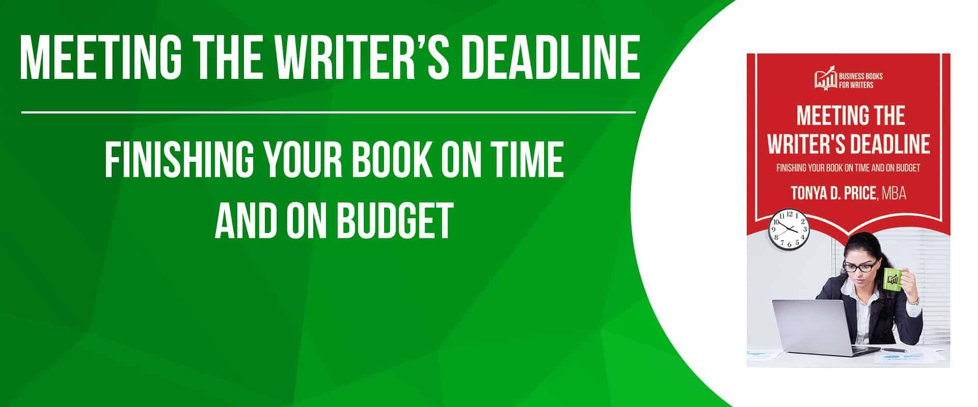 Meeting the Writer's Deadline