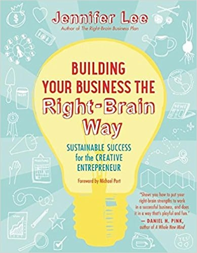 Building Your Busines the Right-Brain Way- book cover