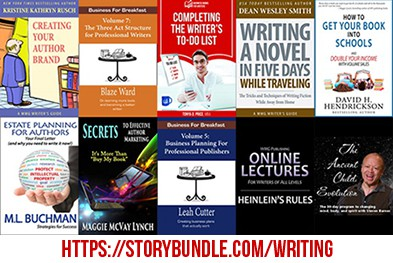 Writers who publish will want this storybundle!