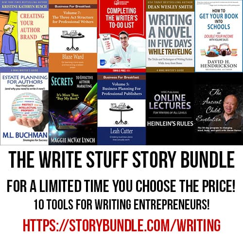 If you write to publish you will want this Storybundle for writing entrepreneurs.