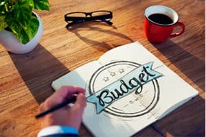 How to create a writing budget system