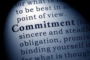 Commit  To Your Writing Goals