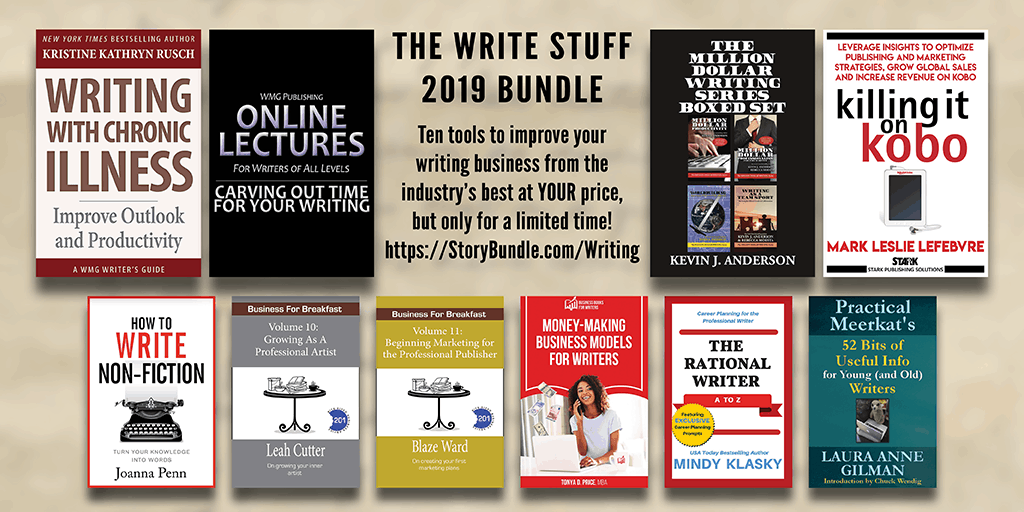 The Write Stuff StoryBundle for Writers.