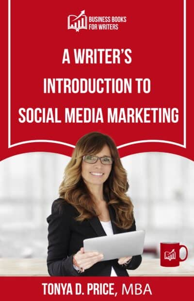 Book cover for A Writier's Introduction to Social Mediai Marketing